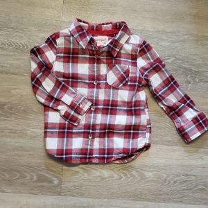 18 mo. Gender neutral flannel